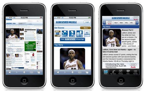 мобилни сайтове