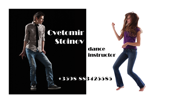 Визитка за Цветомир Стойнов - инструктор по танци